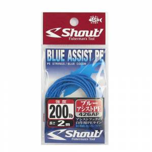 Shout Blue Assist PE Line Assist İpi - 100
