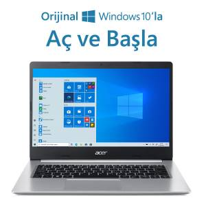 Acer A514-53 Intel i3 1005G1 8GB 256 SSD Windows 10 Home 14 FHD Taşınabilir Bilgisayar NX.HUPEY.001