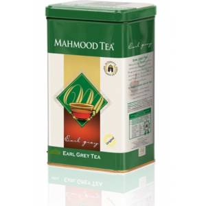 MAHMOOD CEYLON EARLY GREY TEA METAL KUTU 450 GR