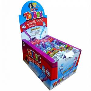 Toybox Sour Rope Orman Meyve 30gr x 24