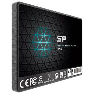 Silicon Power Siliconpower Slim S55 480GB 560MB-530MBS Sata3 2.5 SSD SP480GBSS3S55S25