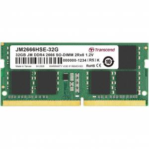 Transcend JM2666HSE-32G 32GB DDR4 2666Mhz CL19 1.2V Notebook Ram
