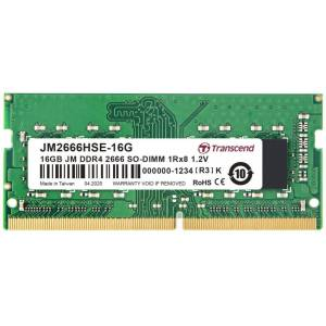 Transcend JM2666HSE-16G 16GB DDR4 2666Mhz CL19 1.2V Notebook Ram