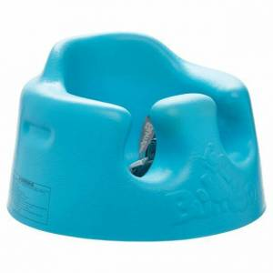 Bumbo Gentle Padded Floor Seat 3-12 Months 3 Point Harness Blue