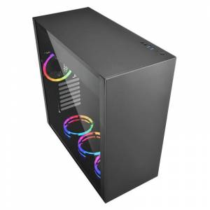 SHARKOON PURE-STEEL-RGB Belirgin Şık ve Kaliteli Midi Tower Kasa