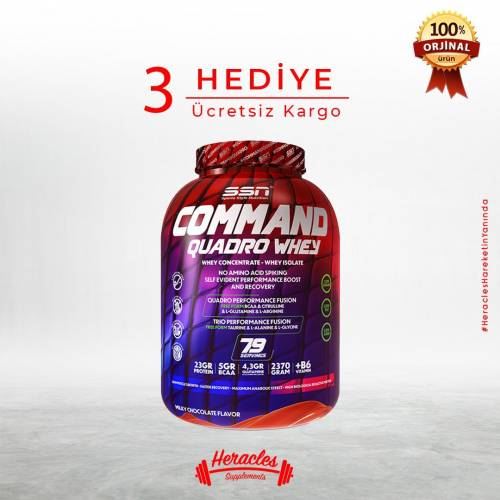 SSN Sports Style Nutrition Command Quadro Whey Protein 2370 gr