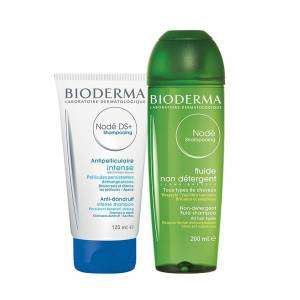 Bioderma Node DS+ Shampoo 125 ml+ Bioderma Node Fluid Shampoo 200ml