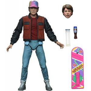 NECA Back to the Future 2 Ultimate Marty Mcfly Figür NBTFMM