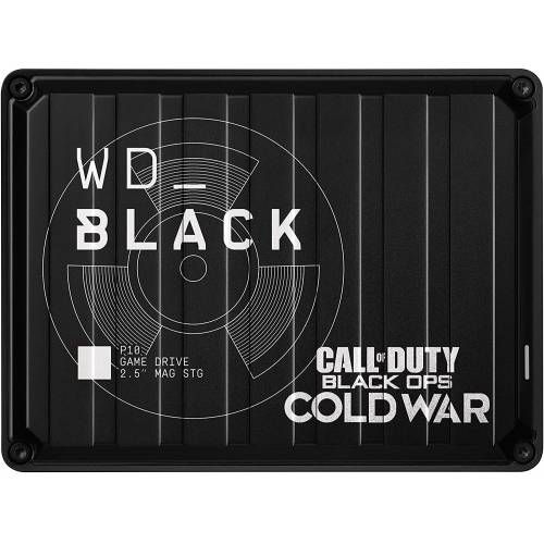 WD Black Call of Duty Black Ops Cold War Special Edition P10 Game Drive 2 TB HDD WDBAZC0020BBK