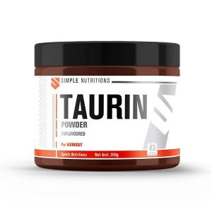 Simple Nutritions Taurin Unflavoured - 250 gr (83 Servis)