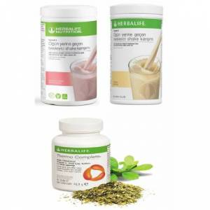 Herbalife2 adet shake ve Thermo Complete