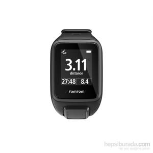 Tomtom Runner 2 Cardio+Music Gps Watch Small Blk/Ant