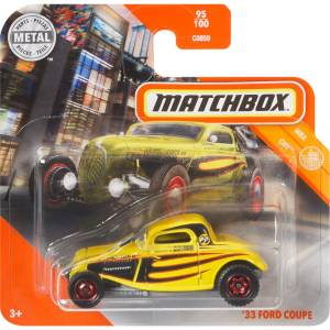 Matchbox City '33 Ford Coupe
