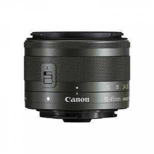 Canon EF-M 15-45mm f/3.5-6.3 IS STM Siyah Lens