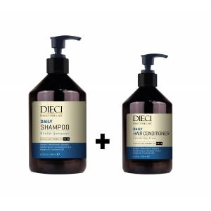 Dieci Daily 1000ml. Şampuan+Daily 500ml. Conditioner