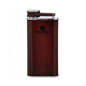 Stanley 0.23L Classic Easy Fill Wide Mouth Flask Wine Red