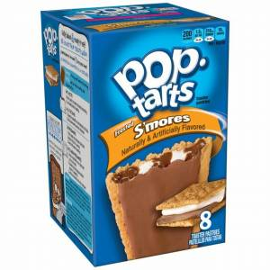 POP TARTS FROSTED SMORES BOX 8 PACK - 384G USA