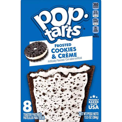 Pop-Tarts Frosted Cookies & Cream  384 gr
